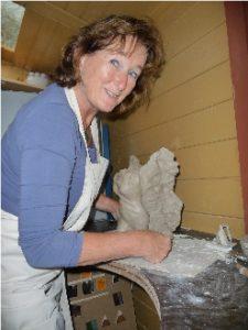 Kunstenaar Marry Ranzijn