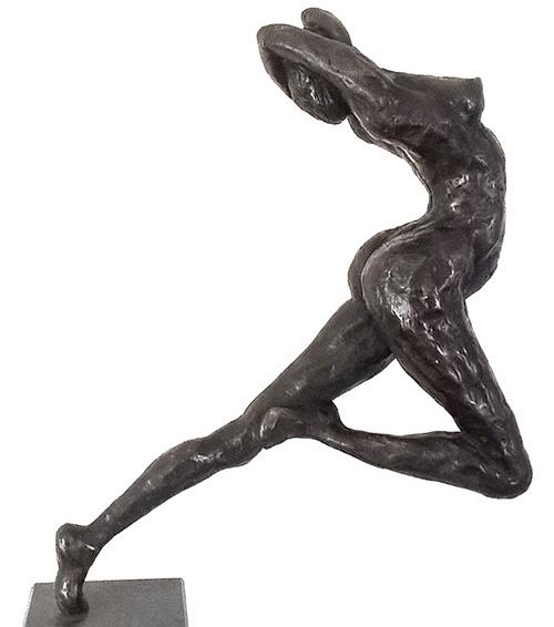 Bronzen beeld. Marry Ranzijn